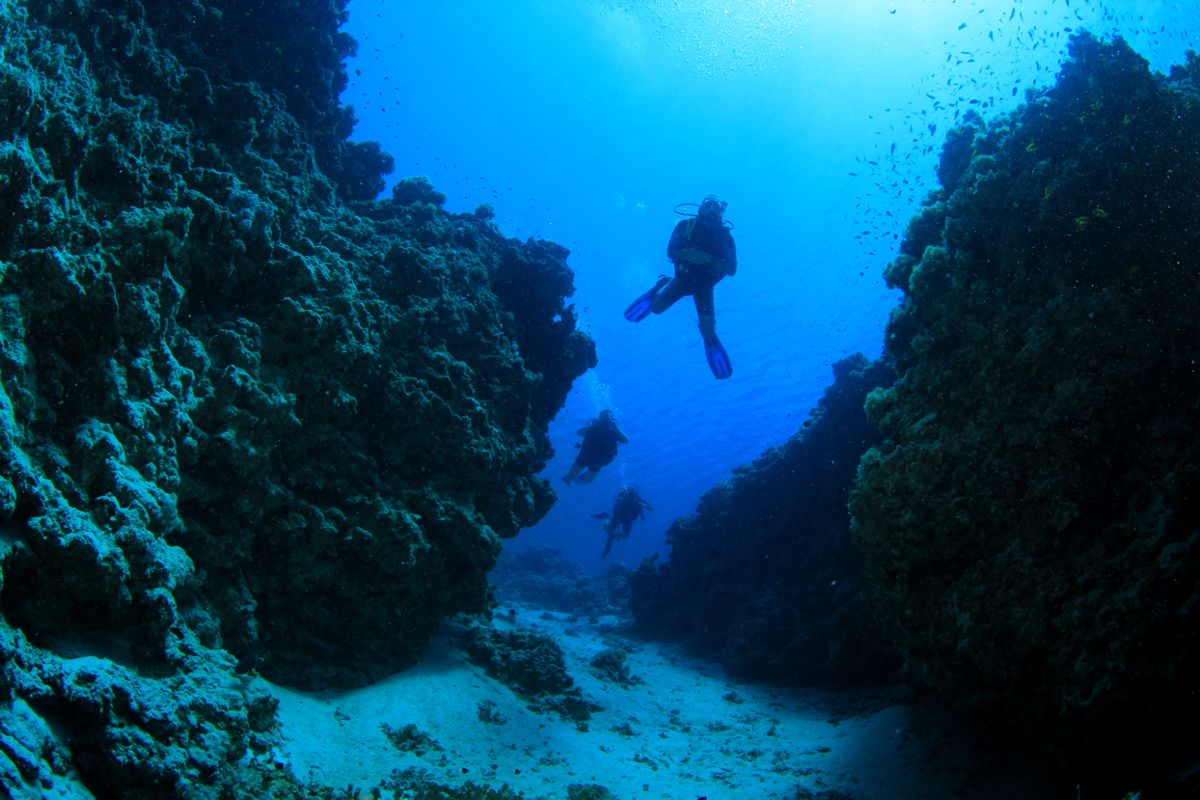 SCUBA Diving in Corfu For Beginners